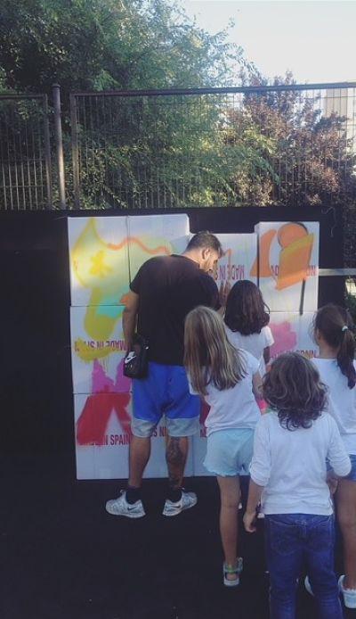 Taller de graffiti para niños